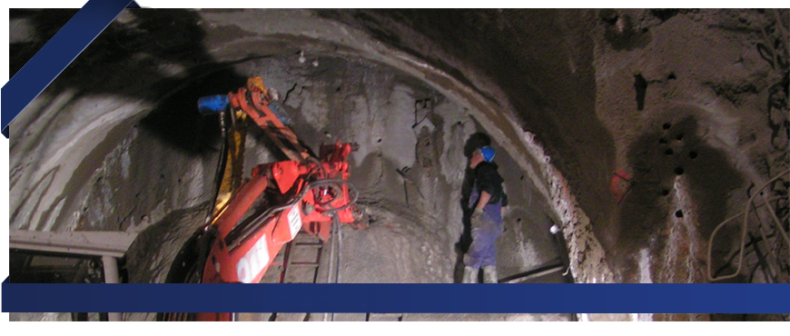 Sycons Kft. - Protective layer stabilization for tunnel construction